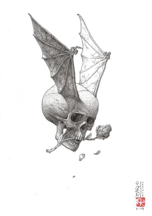 Living death by Liqen B