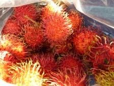 El rambutan ,una fruta parecida al Lichi