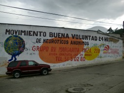 Una de los buenos murales