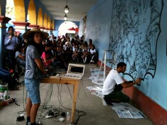 Finalizando la sesión, Ocotlan, Oaxaca