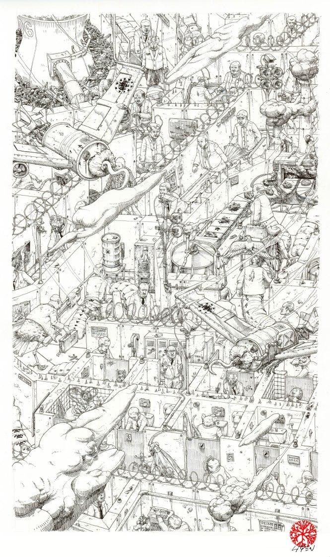 Wall Street Labyrinth