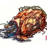 Lo que resta del cuerpo de Cristo