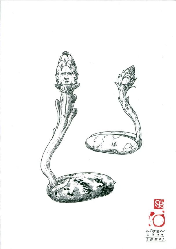 semilla humana 21.1x29.7cm