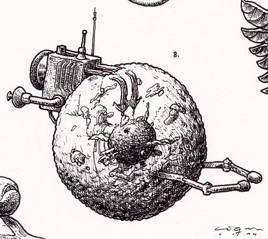 Microbotica celula