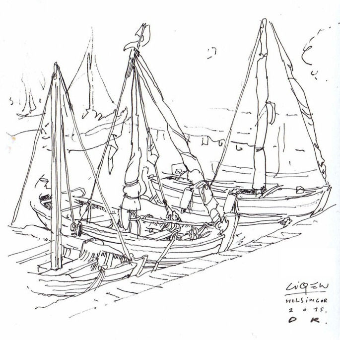 barcas boceto DK