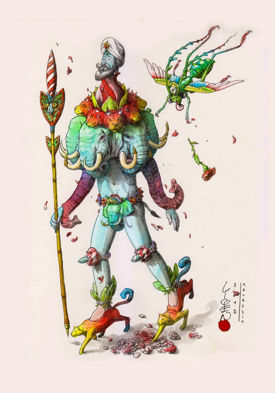 Hindu Walker B