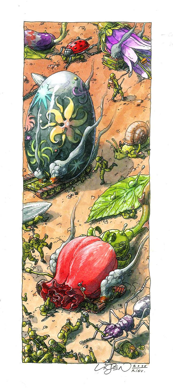 micromacro egg flower war ukr liqen C B