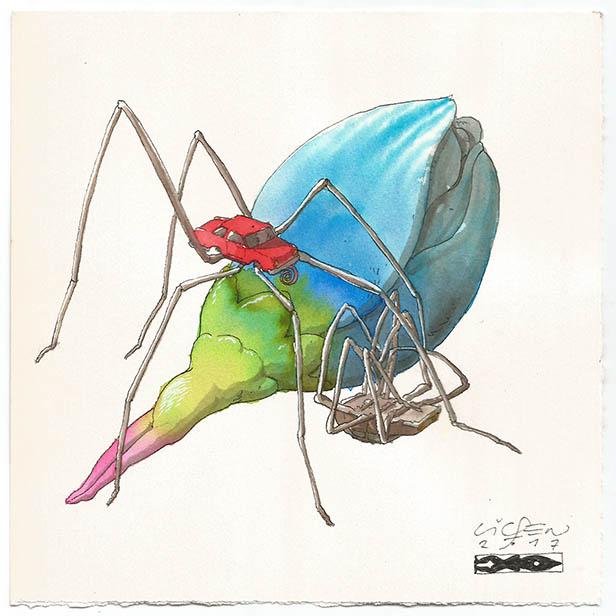 Coche araña B