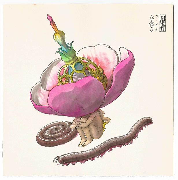 Milpies flor B